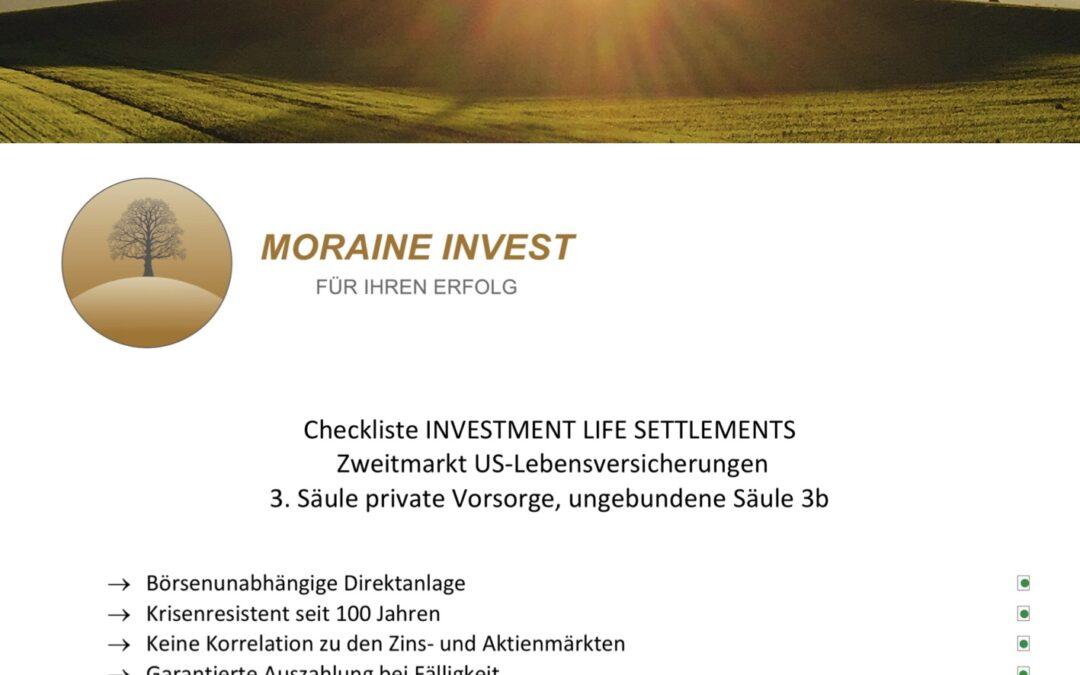 WIN-WIN-SITUATION: Intelligente Anleger helfen alten Menschen und investieren in den Zweitmarkt von Lebensversicherungen
